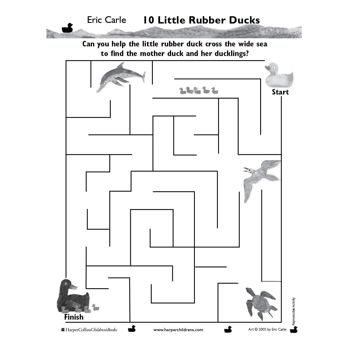 10 Little Rubber Ducks #1