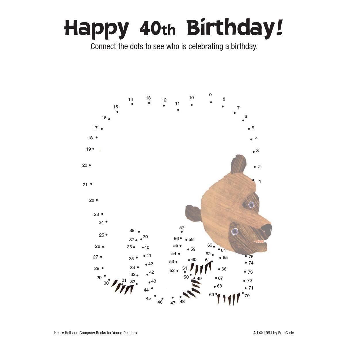 Brown Bear: Dots