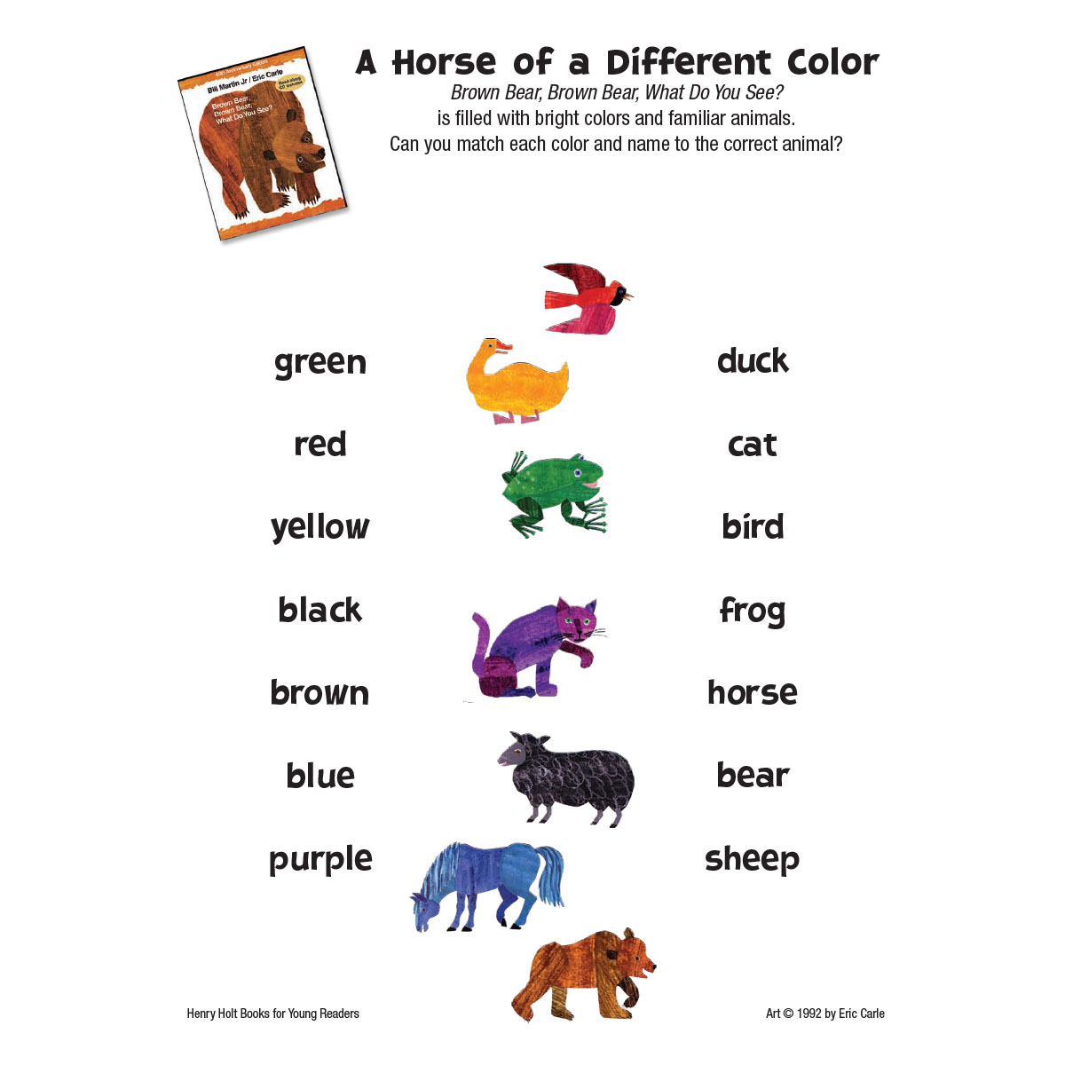 Brown Bear: Colors