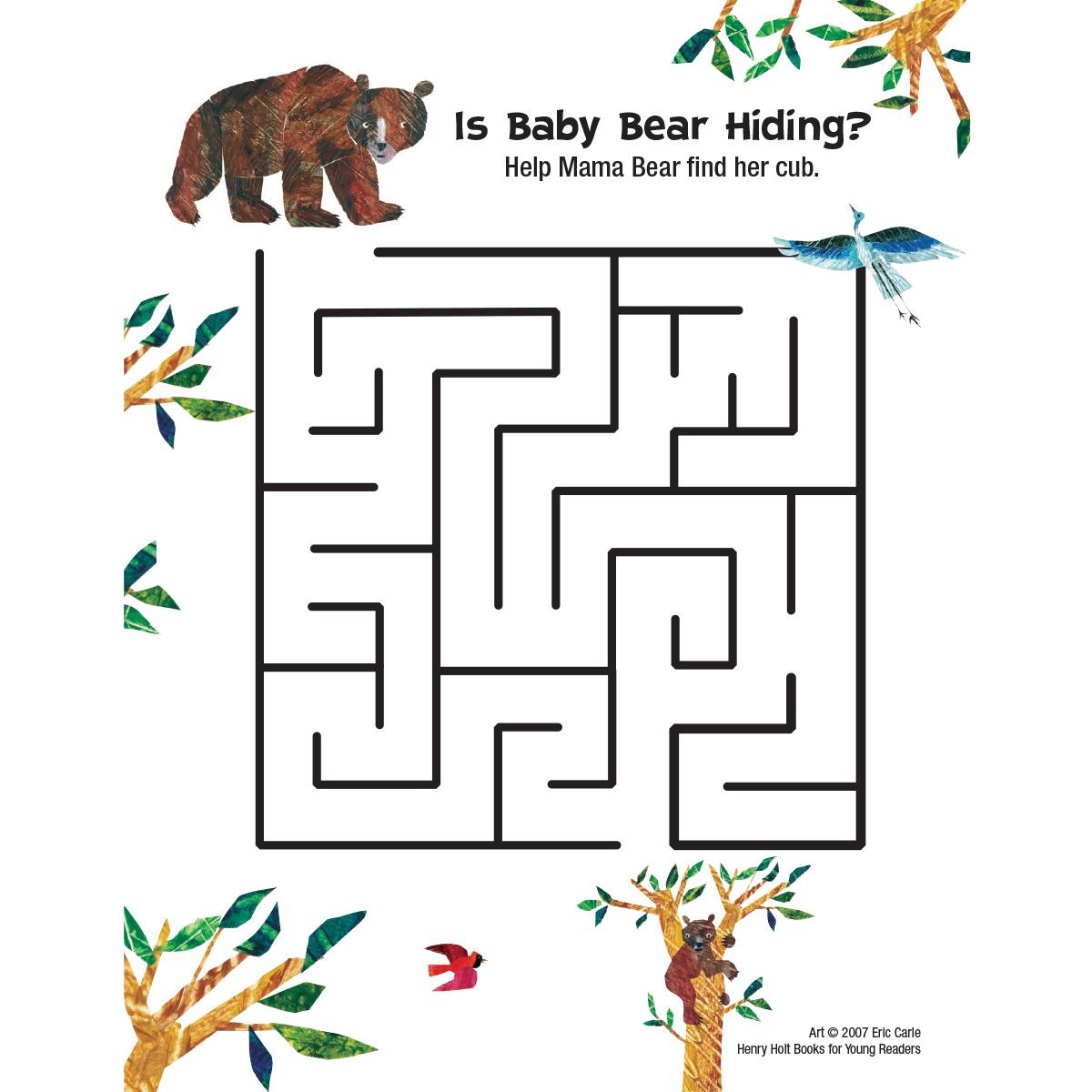 Baby Bear: Maze