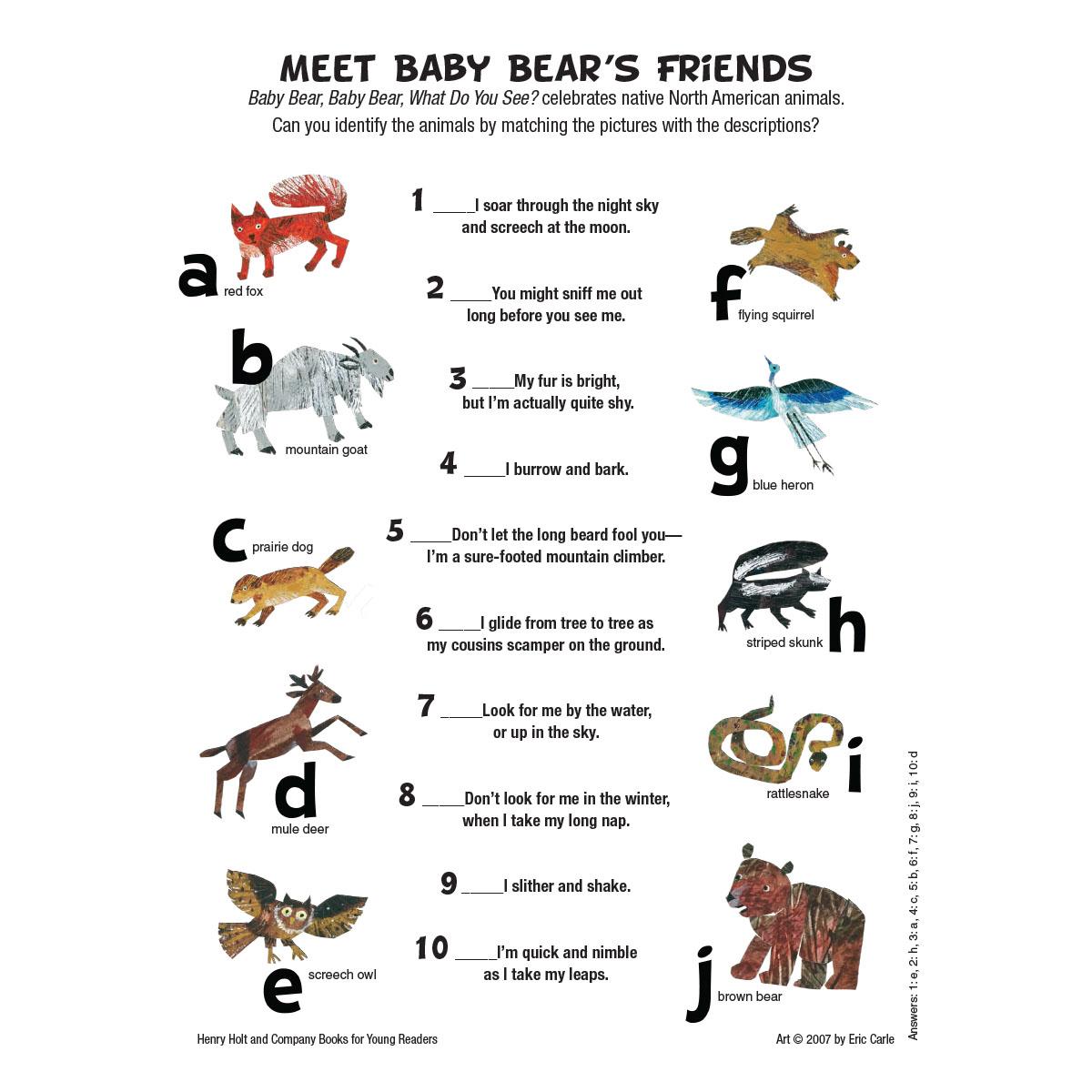 Baby Bear: Friends