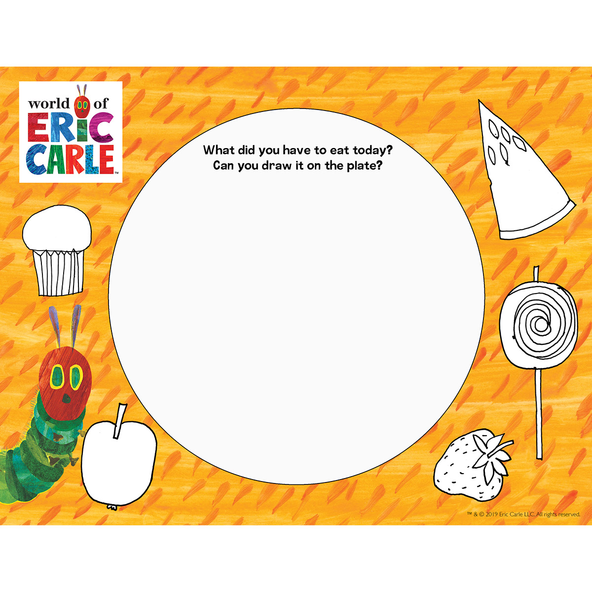 Draw Your Plate!