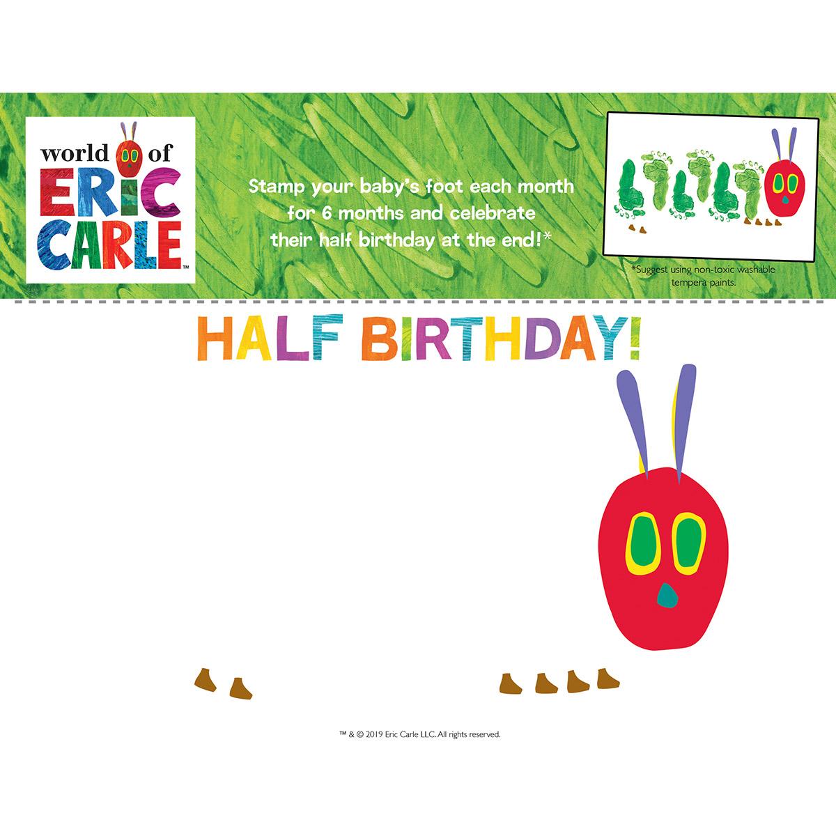 Half Birthday Feet